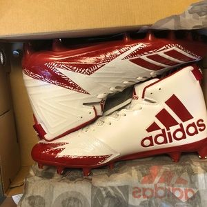 Adidas cleats! Brand new in box never worn!